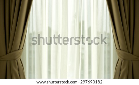 undulate light of soft chiffon texture background