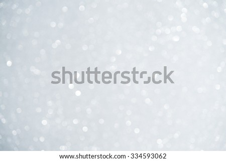 Unfocused abstract white glitter holiday background. Winter xmas holidays. Christmas. - stock photo