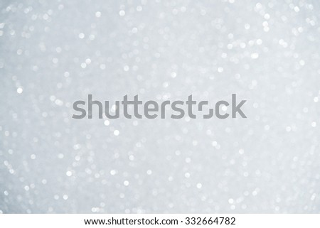 Unfocused abstract white glitter holiday background. Winter xmas theme. Christmas. - stock photo