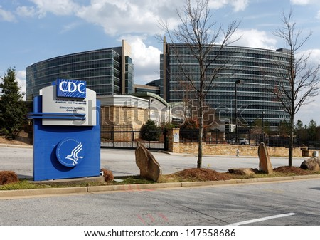 UNINCORPORATED DEKALB COUNTY, GA -Â?Â? MARCH 30: The US Centers for Disease Control and Prevention headquarters on March 30, 2013. The CDC is the national public health institute of the United States. - stock photo