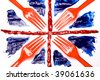 Union Forks, Abstract Union Flag - stock photo