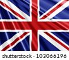 Union Jack Flag background - ideal for the Queens Jubilee - stock vector