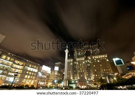 Union Square Statue San Francisco - stock photo