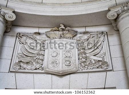 Union station in Washington DC, United States symbol - stock photo
