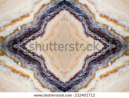 unique texture of natural stone , onyx, marble, mosaic  - stock photo