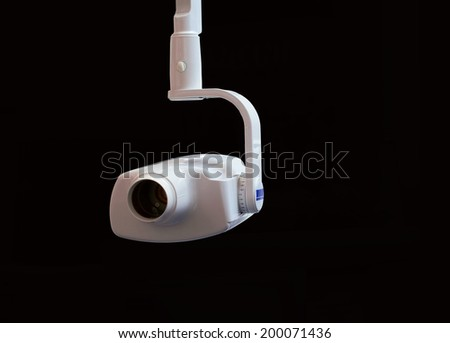 Unit for digital X-ray investigation in dentistry - stock photo