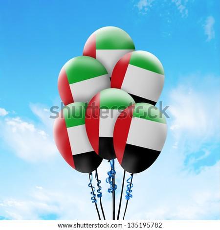 United Arab Emirates - stock photo