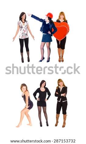 United Colleagues Business Idea  - stock photo