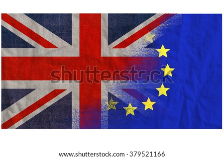 United Kingdom, UK vote on Europe. Voting date June 2016. - stock photo