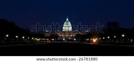 United States Capitol Building - Night