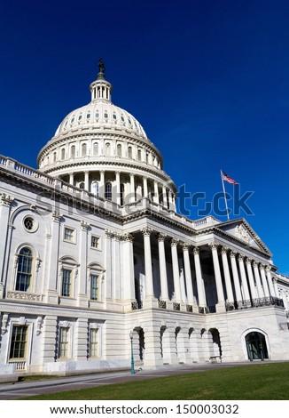 United States Capitol Building, Washington, USA. - stock photo