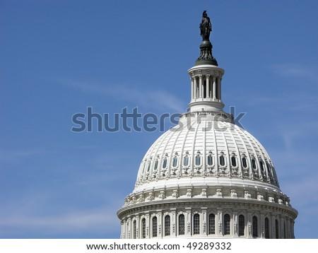 United States Capitol Dome, Washington, DC - stock photo