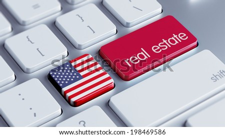 United States High Resolution Real Estate Concept - stock photo