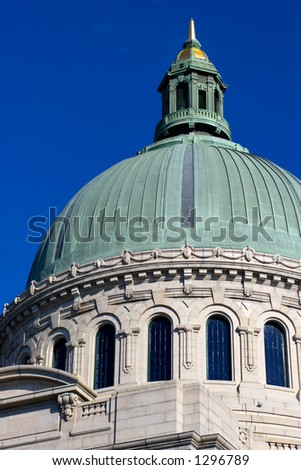United States Naval Academy. Annapolis, Maryland, USA - stock photo