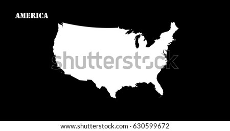 United States Map D Stock Images RoyaltyFree Images Vectors - Us map silhouette