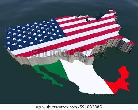 United States America Usa US Isometric Stock Illustration 591883385