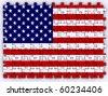 United Stats flag - stock photo