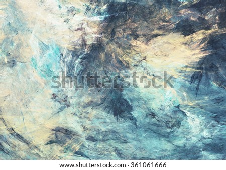 Unity of elements. Color dynamic background with lighting effect. Modern futuristic bright painting texture for creativity graphic design. Shiny pattern. Fractal artwork - stock photo
