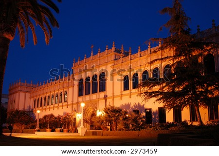 University building - stock photo