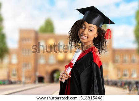 University Graduation. - stock photo