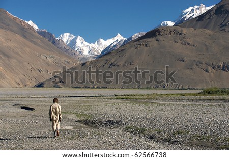 Unknown Hindukush - stock photo