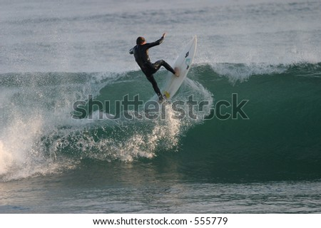 Unknown Malibu Surfer