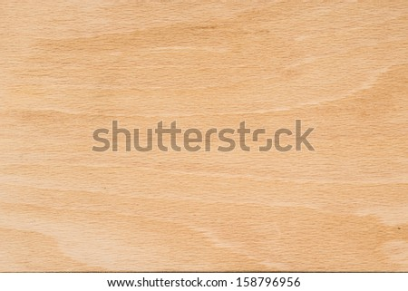 Unmarked and unscratched wood board texture - stock photo