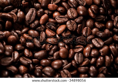 Unroasted coffee texture