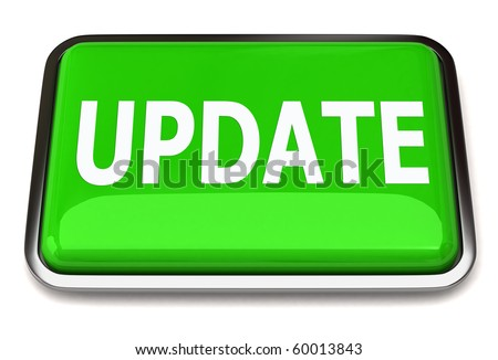 Update button - stock photo