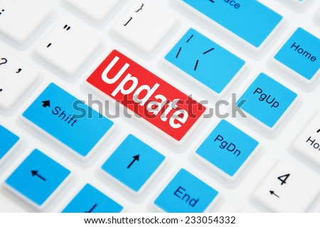 Update button on computer keyboard