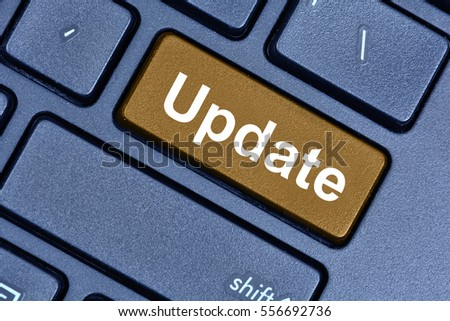 Update word on keyboard button pc