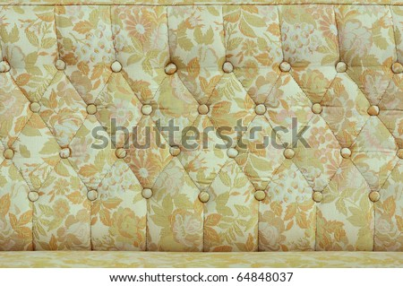 Upholstery fabrics old - stock photo