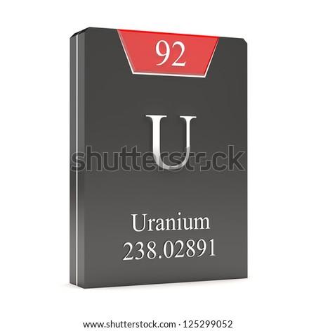 Uranium u 92 periodic table stock illustration 125299052 uranium u 92 from periodic table urtaz Image collections