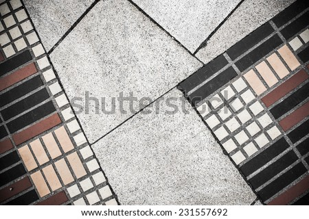 urban abstract detail in Hamburg, Germany - stock photo