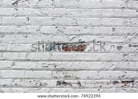 Urban Background - Brick Wall - stock photo