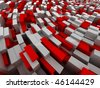 Urban city abstract background - stock photo