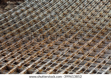 Urban construction buildings foundation. construction and buildings concept - stock photo