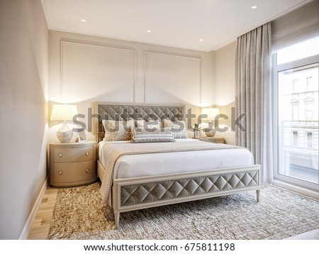 bedroom hotel design. Urban Contemporary Modern Classic Traditional Hotel Bedroom Interior Design  with beige walls Elegant furniture and Stock