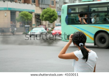 Urban ecology problems - stock photo