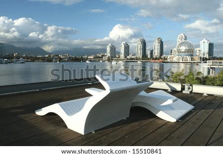 Urban Landscape Design - stock photo