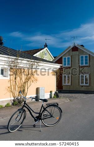 Urban landscape in Kalmar, Sweden - stock photo