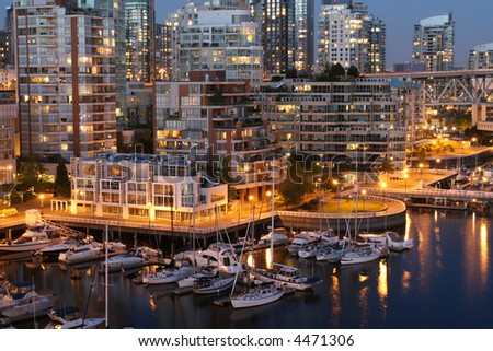 Urban Marina - stock photo