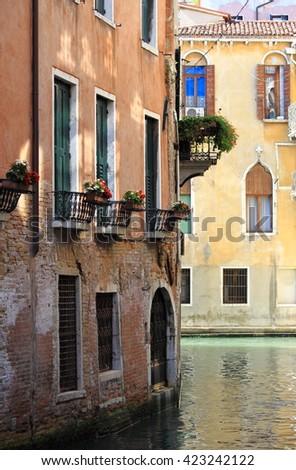 Urban scenic of Venice, Italy - stock photo