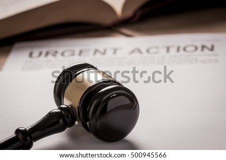 Urgent Action Title On Documents