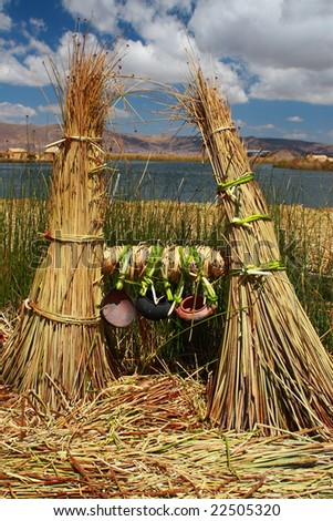 Uros Islands - stock photo