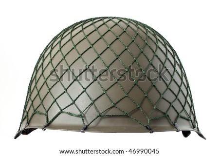 Us army Helmet Second World War - stock photo