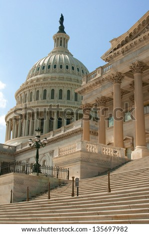 US Capitol building in Washington DC