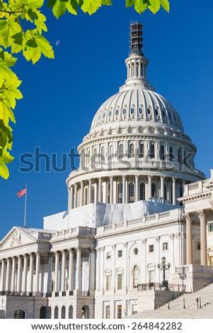 US Capitol in Washington, DC - stock photo