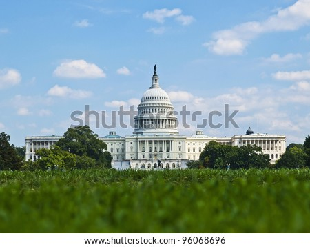 US Capitol, Washington DC - stock photo
