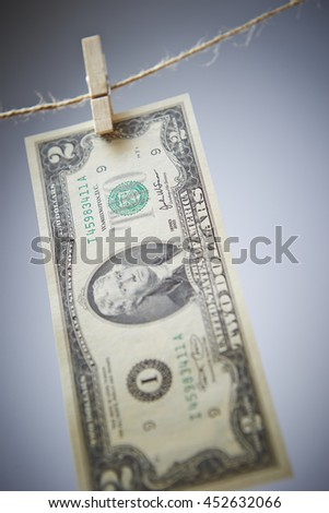 US dollar bill - stock photo